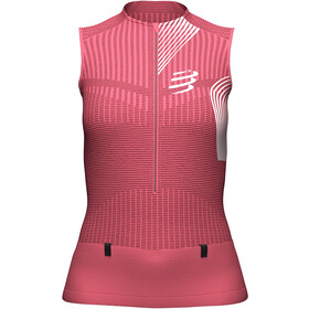 Compressport Trail Postural Tank Top Women, garnet rose